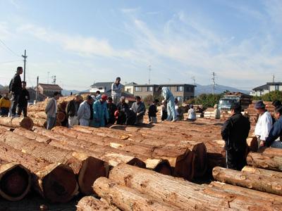 徳島県原木市場買方組合
